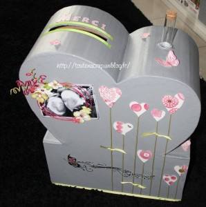tout en scrap urne de notre mariage. Black Bedroom Furniture Sets. Home Design Ideas
